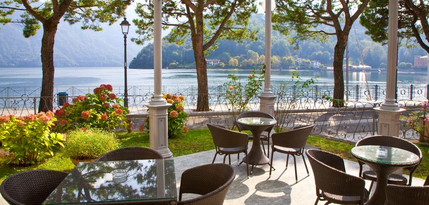 Lenno Hotel, Lenno, Lake Como, Italy - Veranda.jpg